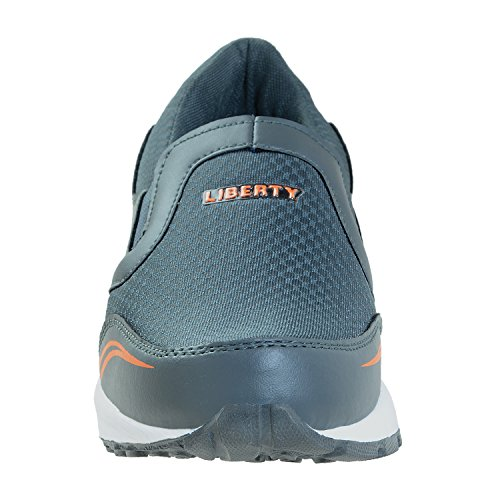 Liberty Men Outdoor Multisport Training & Running Shoes Shoes (09 UK, Grey-Orange)