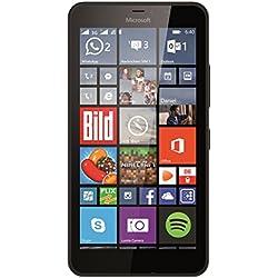 Microsoft Lumia 640 XL Smartphone débloqué 3G (Ecran : 5,7 pouces - 8 Go - Double SIM - Windows Phone 8.1) Noir (import europe)