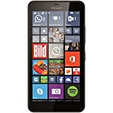 "Microsoft Lumia 640 XL - Smartphone libre Windows Phone (pantalla 5.7"", 8 GB, Quad-Core 1.2 GHz, 1 GB RAM), negro [Importado]"
