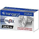 Kangaro 24/6 Staples Pack, 20 Packs