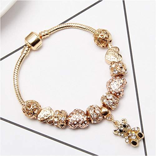 Perlen Roségold 18Cm Geschenk Für Paare Beste Wahl Für Armbänder ()