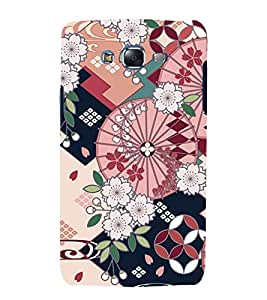 Flower Pattern 3D Hard Polycarbonate Designer Back Case Cover for Samsung Galaxy J7 J700F (2015 OLD MODEL) :: Samsung Galaxy J7 Duos :: Samsung Galaxy J7 J700M J700H