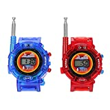 Occitop 2pcs Novelty 7in1 Kids Watch Walkie-Talkie Intercom Outdoor Interphone Toys