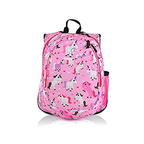 Obersee Unicorn Kids Pre-School All-in-One Backpack with