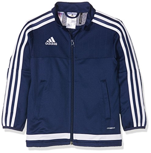 adidas Kinder Jacke/Anoraks Tiro15 training jk y Dark Blue/White