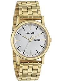 Sonata Analog White Dial Boy's Watch - 7987YM07J