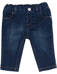 Chicco Baby Mädchen Jeans verstellbar mit Gummizug dunkelblau