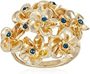 Accessorize Metal Collection Ring for Women (Blue) (MN-49420140003)