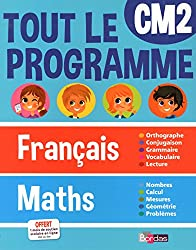 Tout le programme Français/Maths - CM2