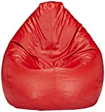 #9: Solimo XXL Bean Bag Cover Without Beans (Red)