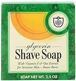 Van Der Hagen Glycerin Shave Soap, 2.5-O...