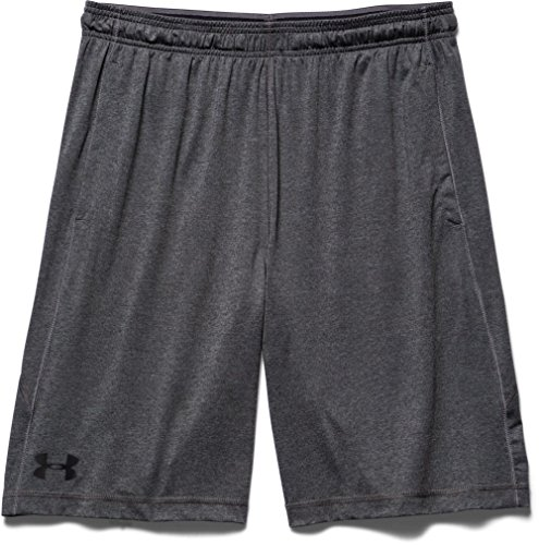 Under Armour, Ua Raid 8 Short, Pantaloncino, Uomo, Grigio (Carbon Heather/Black 090), M