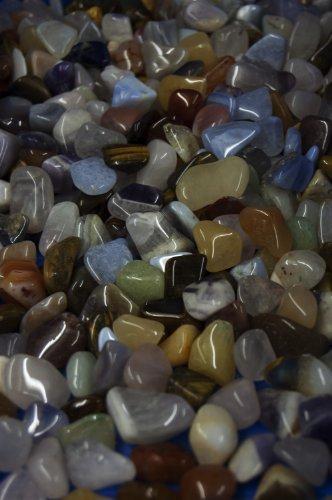 Amahoff mélange de pierres taille 1, 5-2 cm 250 g sachets à ordures
