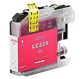 Bubprint Druckerpatrone kompatibel für Brother LC-225XL M LC225XLM LC 225XL für DCP-J4120DW MFC-J4420DW MFC-J4620DW MFC-J5320DW MFC-J5620DW Magenta