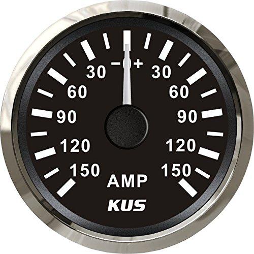 Kus Ampèremètre Amp Gauge 150 A courant avec unité de Pick-up 52 mm (5,1 cm) avec rétroéclairage