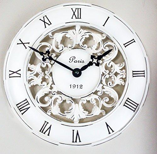 Clocks - Orologio da parete in stile shabby chic, complemento ...