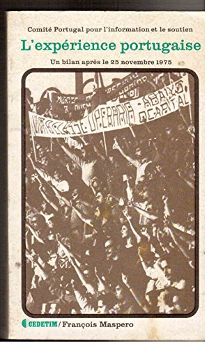 L'expérience portugaise : Un bilan après le 25 novembre 1975