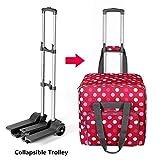 Macchina da cucire Trolley, di rotolamento del carrello, portatile pieghevole di trasporto Carrello per cucire bagagli Tote Bag