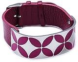 ESPRIT Jewels Damen-Armband Thriving Flora Pacific Pink Edelstahl ESBR11431C200