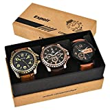 #6: Espoir Analogue Black Dial Men's Watch - Combo Cool BLK Kranti