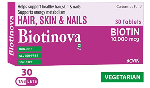 Biotin-High-Potency-10000-mcg-per-Veg-Tablet-Supports-Hair-Growth-Glowing-Skin-and-Strong-Nails-Biotinova-3060-Tablets