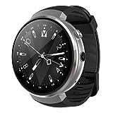 Lemfo Lem7 Smart Watch – Android 7.0 4 G LTE 2 MP Caméra montre téléphone 16 Go de ROM Intégré Translator Bluetooth/GPS/moniteur de fréquence cardiaque Sports montre intelligente pour Android IOS