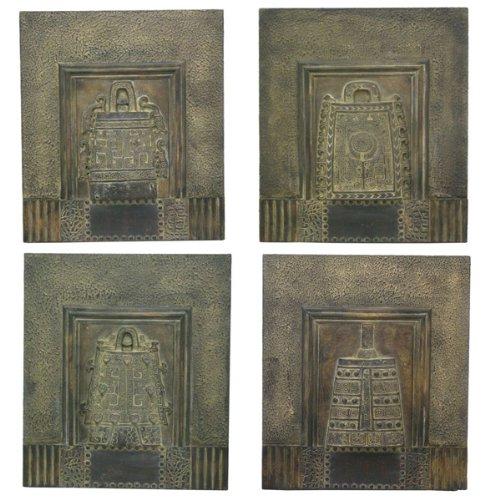 Renaissance 2000Deko-4-assorted Wand Vorlagen, 40,6cm von 35,6cm