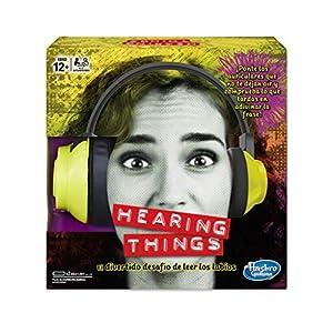Hasbro Gaming – Juego de mesa Hearing Things (E2617105)
