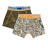 Vingino NYC Jungen Boxershorts 2 Pack Army Moss (XL (158-164))