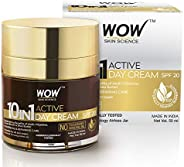 WOW 10 in 1 Active Miracle No Parabens & Mineral Oil Day Cream,