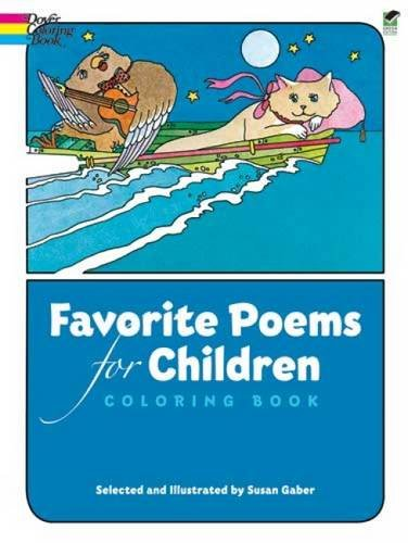 Favourite Poems for Children (Dover Classic Stories Coloring Book)