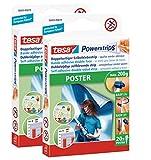 Klebestreifen tesa Powerstrips® Poster, 2 x 20er-Pack