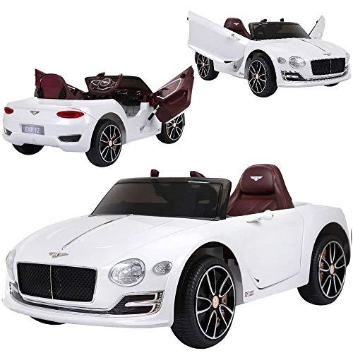 Bentley Kinder Elektroauto elektrisches Kinderauto EXP12 mit 12V Akku 2 Motoren Fernsteuerung Licht Musik Türen