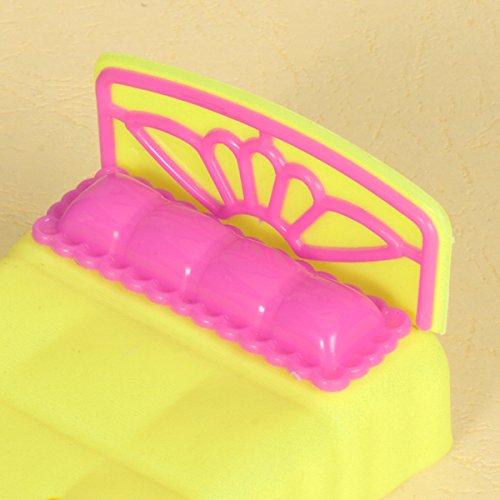 Letto Bambola Mobili Per Barbie Sorella Krissy