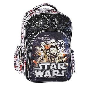 51ZO1Hi%2BQoL. SS300  - Graffiti Star Wars Mochila Escolar, 44 cm, Negro (Black)