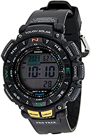 Casio Men's Dial Silicone Band Watch - PRG-240