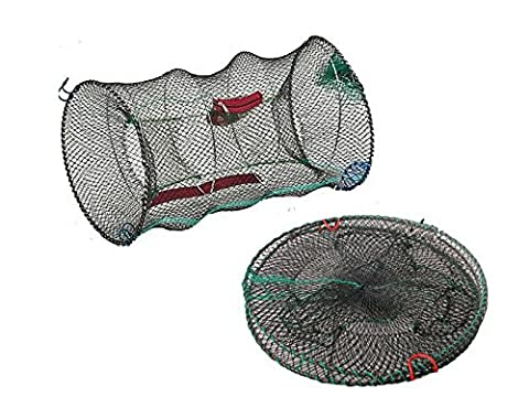 FiNeWaY@ CRAB TRAP NET FOR CRAB PRAWN SHRIMP CRAYFISH LOBSTER EEL LIVE BAIT FISHING POT