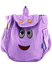 """Nickelodeon Dora The Explorer Boots 11"""" Plush School Backpack For Kids Age 3+"""
