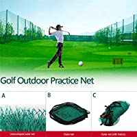 Comaie Net Sports Garden Golf Nets - Estimulador para Practicar Deportes al Aire Libre, Multicolor, Golf Net Edging + Hook and Loop
