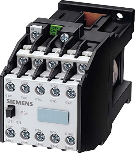 SIEMENS 3TH42 - CONTACTOR AUXILIAR 3TH4 44E 125/127VAC 50HZ TORNILLO