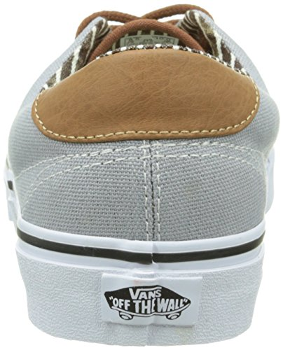 Vans Authentic, Sneakers Basses Mixte Adulte Gris (C L/Slv Sconce)