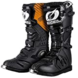 O'NEAL Rider Boots MX Motocross Motorcycle Enduro Boots Black - 0329-1, Men Womens