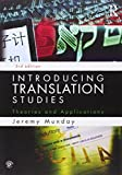 Introducing Translation Studies: Theories and Applications: Volume 1