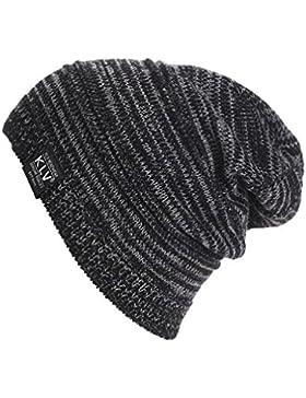 Sombrero de hombre, Internet Hombres tejen gorro de invierno sombrero