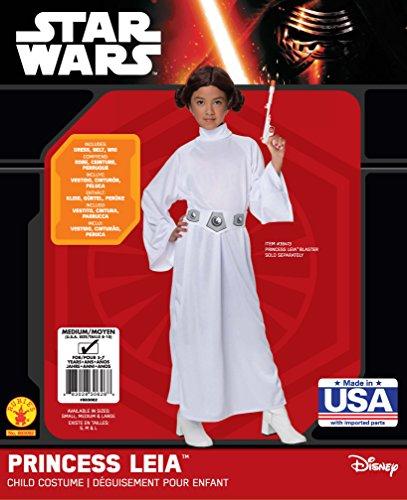 Imagen de disfraz de princesa leia tamaño mediano 5 7 años alternativa