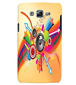 Citydreamz Music/Sound/Songs/Colorful Hard Polycarbonate Designer Back Case Cover For Samsung Galaxy On5 Pro