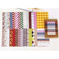 Hojas de pegatinas decorativas para manualidades
