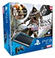 Console PS3 500 Go Noire + Assassin's Creed 4 : Black Flag + The Last of Us