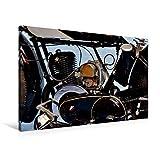 Premium Textil-Leinwand 90 x 60 cm Quer-Format Zündapp Z 300 | Wandbild, HD-Bild auf Keilrahmen, Fertigbild auf hochwertigem Vlies, Leinwanddruck von Ingo Laue (CALVENDO Mobilitaet)