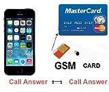 Premium GSM box ID carta di credito auricolare Bluetooth spia nascosta mini Imei SIM 4.5W